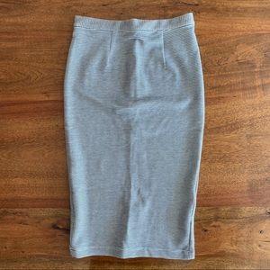 NWOT Topshop Pencil Skirt